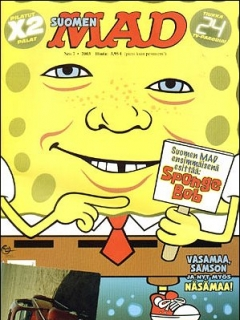 Go to MAD Magazine #192 • Finland • 2nd Edition - Semic
