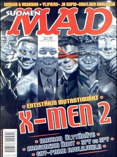 Go to MAD Magazine #193 • Finland • 2nd Edition - Semic