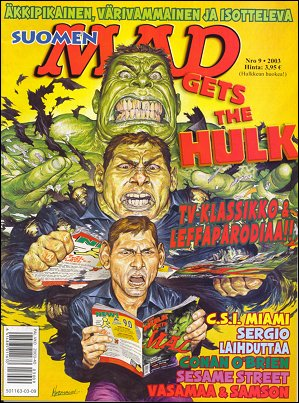 MAD Magazine #9 2002 • Finland • 2nd Edition - Semic