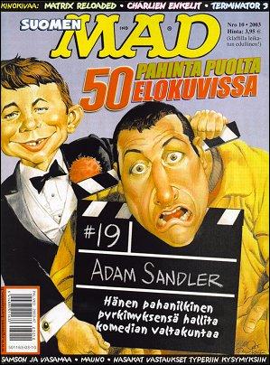 MAD Magazine #10 • Finland • 2nd Edition - Semic
