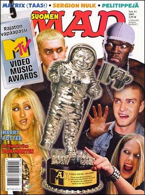 MAD Magazine #11 • Finland • 2nd Edition - Semic