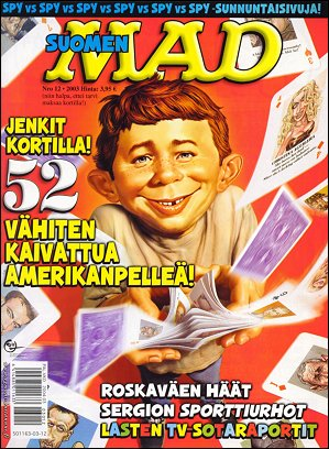 MAD Magazine #197 • Finland • 2nd Edition - Semic