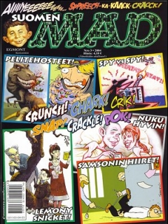 Go to MAD Magazine #200 • Finland • 2nd Edition - Semic