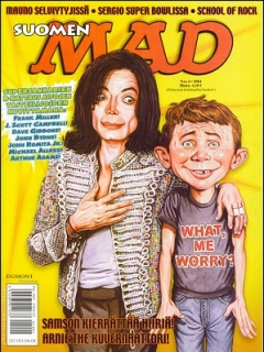 Go to MAD Magazine #201 • Finland • 2nd Edition - Semic
