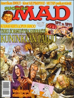 Go to MAD Magazine #203 • Finland • 2nd Edition - Semic