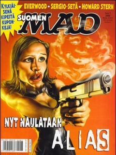 Go to MAD Magazine #204 • Finland • 2nd Edition - Semic
