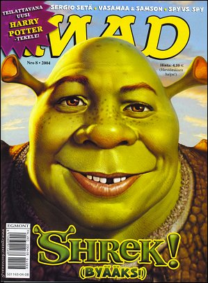 MAD Magazine #8 • Finland • 2nd Edition - Semic