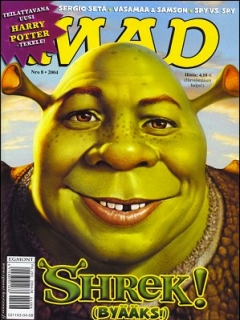Go to MAD Magazine #205 • Finland • 2nd Edition - Semic
