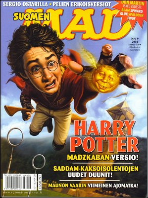 MAD Magazine #9 • Finland • 2nd Edition - Semic
