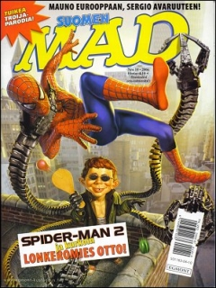 Go to MAD Magazine #207 • Finland • 2nd Edition - Semic