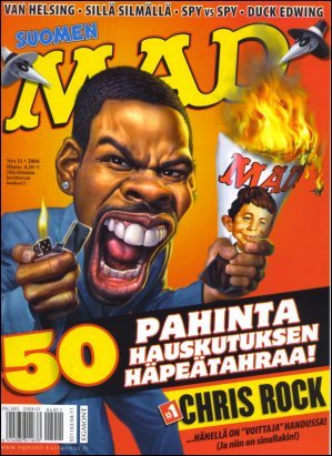 MAD Magazine #208 • Finland • 2nd Edition - Semic