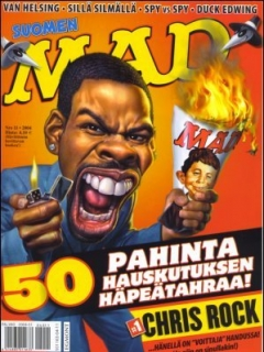 Go to MAD Magazine #208 • Finland • 2nd Edition - Semic
