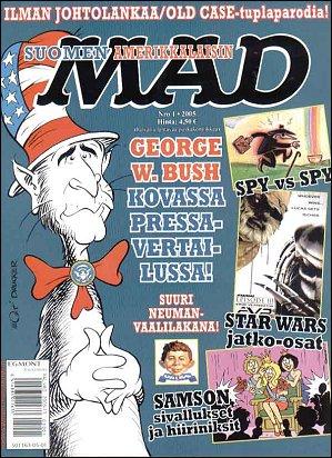 MAD Magazine #210 • Finland • 2nd Edition - Semic