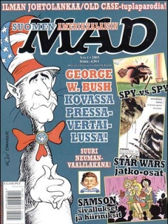 Go to MAD Magazine #210 • Finland • 2nd Edition - Semic