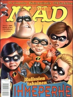 Go to MAD Magazine #211 • Finland • 2nd Edition - Semic