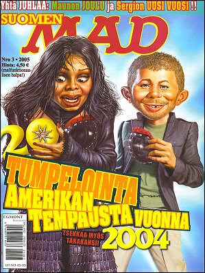 MAD Magazine #212 • Finland • 2nd Edition - Semic