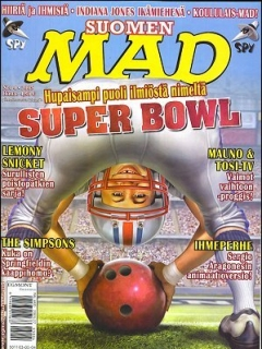 MAD Magazine #213 • Finland • 2nd Edition - Semic
