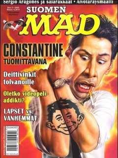 Go to MAD Magazine #214 • Finland • 2nd Edition - Semic