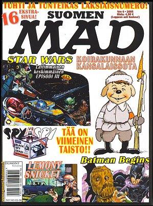 MAD Magazine #6 2004 • Finland • 2nd Edition - Semic