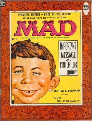 MAD Magazine #1 • France • 1st Edition - Francélia