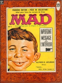 Go to MAD Magazine #1 • France • 1st Edition - Francélia