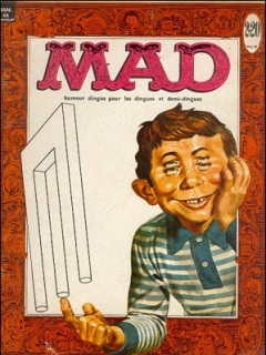 Go to MAD Magazine #3 • France • 1st Edition - Francélia