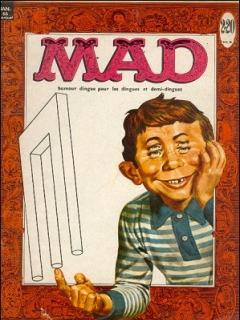 MAD Magazine #3 • France • 1st Edition - Francélia