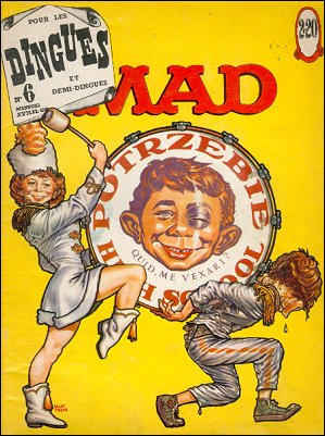 MAD Magazine #6 • France • 1st Edition - Francélia