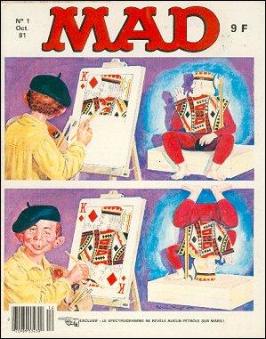 MAD Magazine • France • 2nd Edition - Grafika