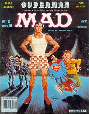 MAD Magazine #2 • France • 2nd Edition - Grafika