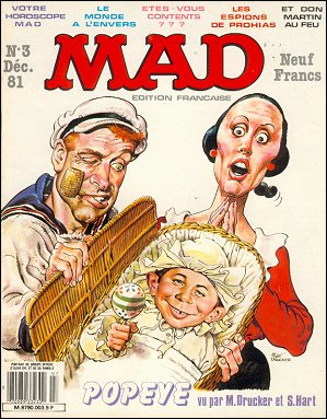 MAD Magazine #3 • France • 2nd Edition - Grafika