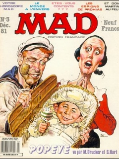 MAD Magazine #3 • France • 2nd Edition - Grafika