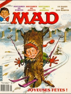 MAD Magazine #4 • France • 2nd Edition - Grafika
