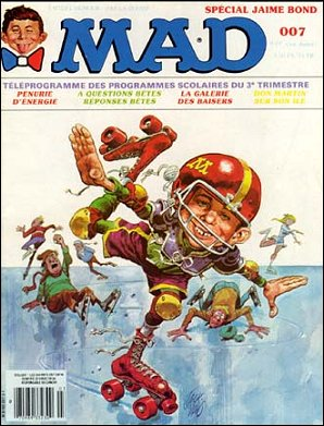 MAD Magazine #7 • France • 2nd Edition - Grafika