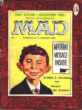 MAD Magazine #1 • Great Britain