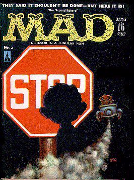 MAD Magazine #2 • Great Britain