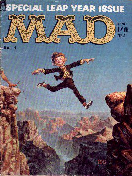MAD Magazine #4 • Great Britain