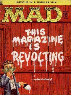 Go to MAD Magazine #5 • Great Britain
