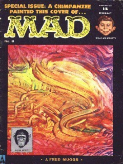 Go to MAD Magazine #8 • Great Britain