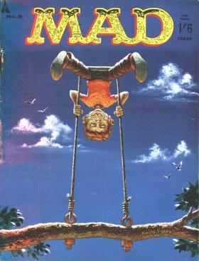 MAD Magazine #9 • Great Britain