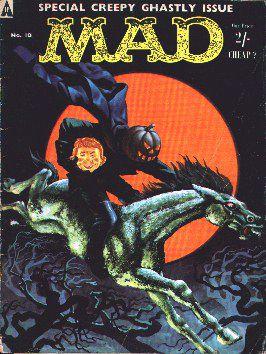 MAD Magazine #10 • Great Britain