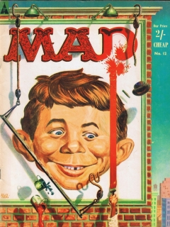 Go to MAD Magazine #12 • Great Britain