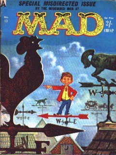 Go to MAD Magazine #13 • Great Britain