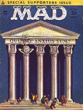 MAD Magazine #16 • Great Britain