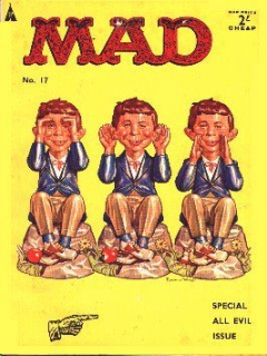 Go to MAD Magazine #17 • Great Britain