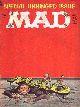 MAD Magazine #19 • Great Britain