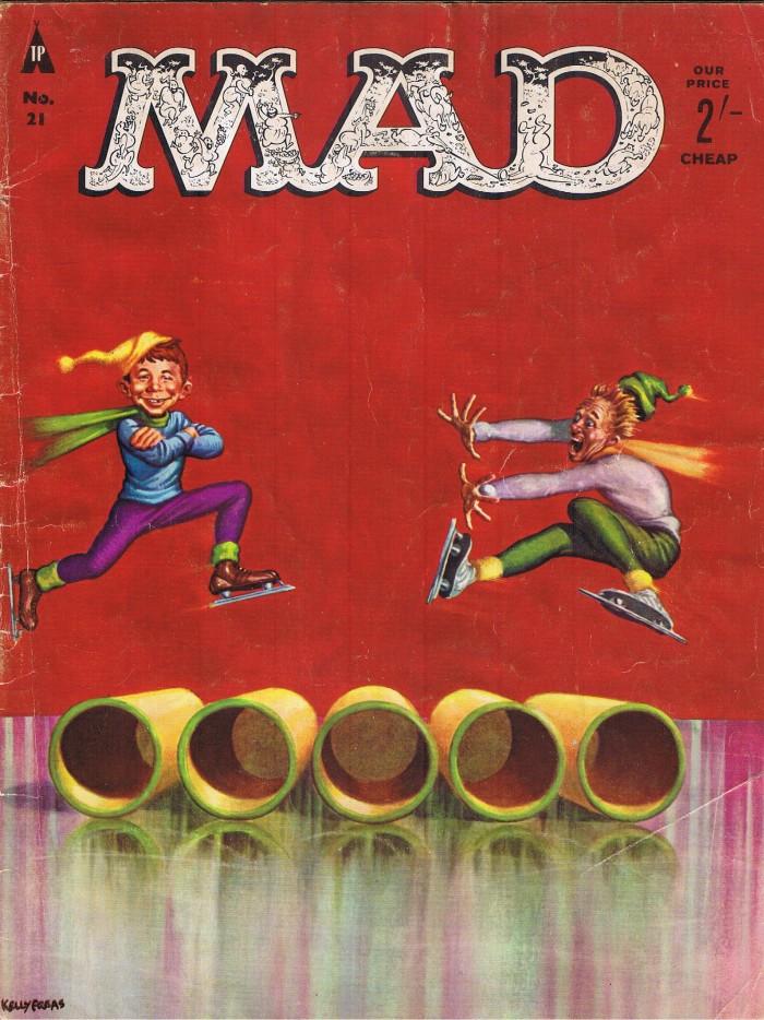 MAD Magazine #21 • Great Britain