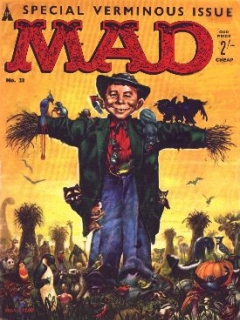 Go to MAD Magazine #23 • Great Britain