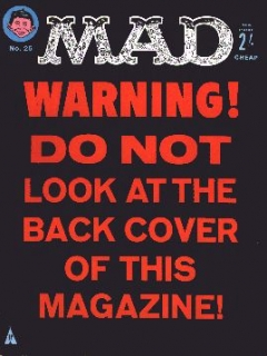 Go to MAD Magazine #25 • Great Britain