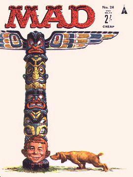 MAD Magazine #26 • Great Britain